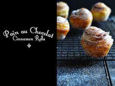 Pain au Chocolat Cinnamon Rolls - The Style Insider
