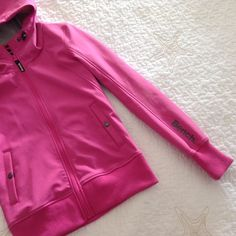 Bench hoodie Brand new, never worn. A hot pink hoodie that you can add to your collection. Bench Jackets & Coats