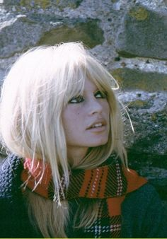 Brigitte Bardot- dressed for fall