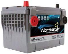Northstar Pure Lead Automotive Group 34 78 Car Battery Nsb Agm34