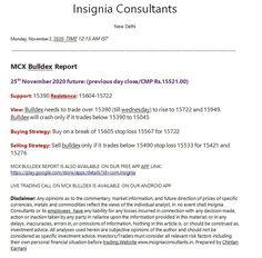 Mcx Bulldex Report: 2nd November 2020 #icomdex #mcx #mcxicomdex #mcxindex #icomdexbullion #gold #silver #mcxbulldex #mcxgold #mcxsilver