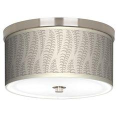"""Stacy Garcia Fancy Fern Ice 10 1/4"""" Wide Ceiling Light   LampsPlus.com"""