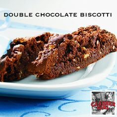 homemade biscotti? Try our recipe for rich, Double Chocolate Biscotti ...