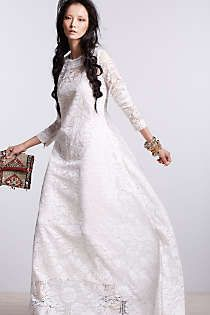 Anthropologie - Kella Lace Maxi Dress