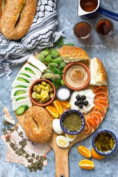 Middle Eastern breakfast, platters edition – Chef in disguise Pickled Eggplant, Breakfast Platter, Eastern Cuisine, Middle Eastern Recipes, Arabic Food, Food Presentation, Finger Foods, My Recipes, Brunch