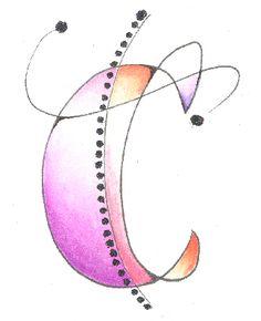 "Letter c.                ""Class 4 - Kersal Monograms"""