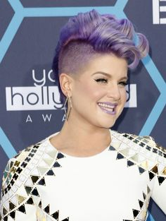 Kelly Osbourne Short Hairstyle with Curls----ABSOLUTELY LOVE THIS---SHE IS ADORABLE!