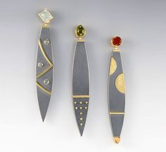Janis Kerman / these are metal, but i love the design