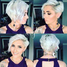 Mejores peinados cortos para cabello fino, diseños de corte de pelo corto de mujer