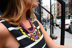 Soho New York, #soytendencia #nyfw15 Soho, Balenciaga, Nyc, Crochet Necklace, New York, Outfits, Fashion, Trends, Moda