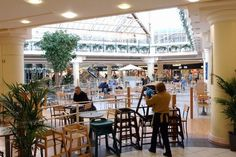 The Potteries Shopping Centre food court
