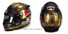 Sebastian Vettel's 2013 #GermanGP helmet #F1
