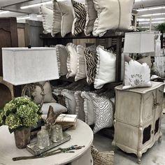 Jan. 2015 - Scott Antique Market: Handmade Pillows