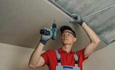 Although fiddly, fitting a plasterboard ceiling is within the skill set of a capable DIYer. This step-by-step shows you how