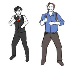Sebastian And Joseph Smut At Your Service