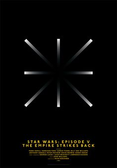 Michal Krasnopolski, Star Wars: episode V. The Empire strikes back, Grid Movie Posters. The Empire Strikes Back: The designer recreates the 'hyperdrive' moment from the Star Wars film