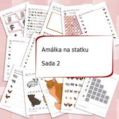 Zvířátka ze statku - sada 2 Playing Cards, Games, Playing Card Games, Gaming, Game Cards, Plays, Game, Toys, Playing Card