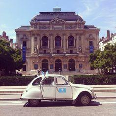 #UberIceCream #Lyon #2CV