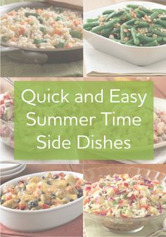Try these great new side dishes for your summer parties!