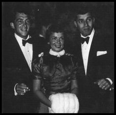 Dean Martin with Patti and Jerry Lewis