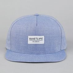 5a2a2ccd0f64d The Quiet Life Oxford Snapback Cap Blue ( 20-50) - Svpply Mens Summer