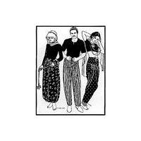 Adjustable Beledi Dress Pattern   Ancient Persia - Ottoman