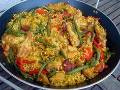 Nem vagyok mesterszakács: Paella con carne mixta – spanyol rizses hús csirkével, borjúval, chorizóval (lépésről lépésre)
