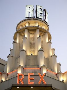 Le Grand Rex~Paris, France~ Largest music venue in Paris.