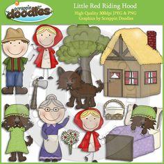 Little Red Riding Hood Clip Art Download