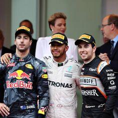 Daniel #Ricciardo Lewis #Hamilton e Sergio #Perez