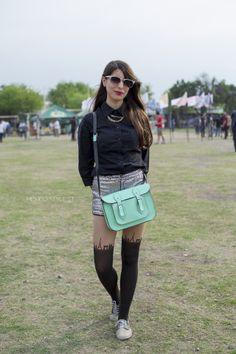 Parisian legs! México Style St. 2014 #StreetStyle