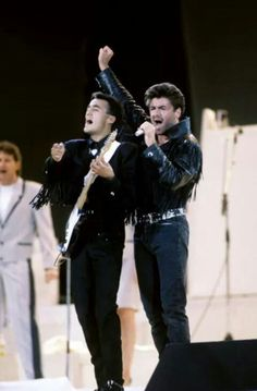 Final Wham! concert, June 1986 - I was at the one in Philly!