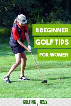 8 Beginner golf tips for women. Looking to get started playing golf? Check out these women's golf tips to help you play better golf. It's a great way to start playing golf. golf 8 Beginner Golf Tips For Women Golf Sport, Golf 2, Play Golf, Disc Golf, Girls Golf, Ladies Golf, Women Golf, Golf Chipping Tips, Golf Tips Driving