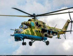 Mil Mi-24P attack helicopter