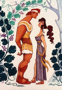 Character Designs from Hercules