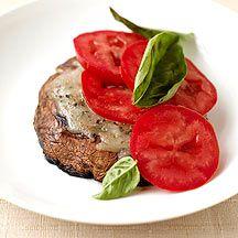grilled margherita portobello mushrooms. points plus value 2