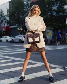 It's Kinda Personal All Day Style Secrets from Model Stella Maxwell White After Labour Day Statement Stella Maxwell, Vs Models, Vogue Magazine, Simple Outfits, Her Style, Fashion Models, Celebrity Style, Winter Fashion, Mini Skirts