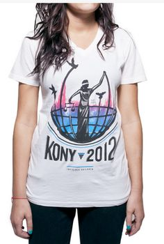 For a Good Cause.. This T-shirt symbolizes hope and global unity.