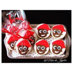 #fofuradodia 😍 Para um #Halloween bem brasileiro, sugestão de decoração com o personagem mais querido do #Folclorebrasileiro : Saci Pererê!!! #Biscoitosdecorados com o desenho do #Saci do Sítio do Pica Pau Amarelo!  Feitos com pasta de chocolate 😋lindamente deliciosos!!! 💌Encomende já o seu!!! #mardejujuba #saciperere #sacipererê #folclore #folk #cookies #chocolate #biscoitos #diadofolclore #diadasbruxas #brasil #sitiodopicapauamarelo #crianças #artesanal #monteirolobato