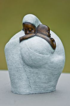 """Nigerian sculptor Nnamdi Okonkwo Okonkwo's sculptures of women are rotund forms that symbolize the abundance of life, """"an outward manifestation of a largeness of soul."""" His art speaks so clearly of his motivation. """"My inspiration comes from the aspect of the human soul that I find sublimely beautiful and noble."""" His art is a personal statement, a unique viewpoint formed (via africlecticmagazine) FAT ART"""