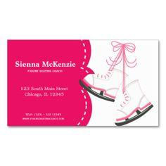 Sold this #skating #coach business card. tx