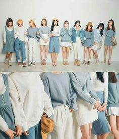 Official Korean Fashion : Korean Fashion Similar Look Fashion Mode, Korea Fashion, Asian Fashion, Look Fashion, Girl Fashion, Fashion Outfits, Fashion Photo, Korean Fashion Trends, Korean Street Fashion