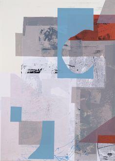 Untitled 05 - Damien Tran Screenprint 50 x 70 cm 13 colors Edition of 25 January 2013