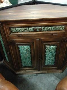 Awesome corner cabinet