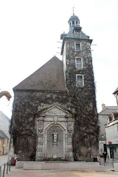 Nuits St Georges Church, Bourgogne, France