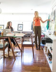 The Made In America Project — Workspace Tour   Apartment Therapy