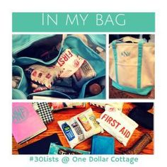 In My Bag {30 Days o