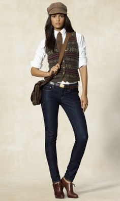 A great tomboy look ¦ Love this style <3