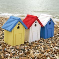 Beach Hut Nest Box | RSPB Bird Nest Boxes | RSPB Shop £9.99