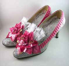 Gorgeous Marie Antoinette Shoes for Wedding by SparkleLovesWhimsey